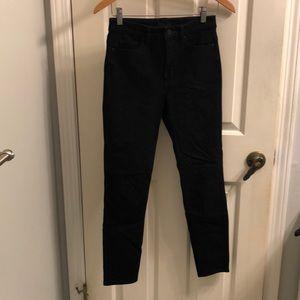 "Uniqlo 26"" skinny high-rise ultra stretch jeans"